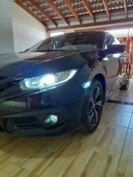 Honda Civic Sport Cvt aut 2017 Interior Caramelo