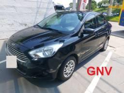Ka+ Sedan SE * 2015/2015 * GNV * 1 Ano de Garantia
