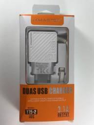 Carregador Iphone H´Maston Entrega Grátis