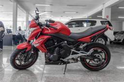 Kawasaki ER-6n 650cc 2012 Vermelha