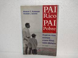 Livro Pai Rico Pai Pobre Robert T. Kiyosaki, Sharon Lechter