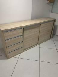 Balcão mais caixa todo de madeira MDF