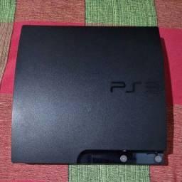 PS3 SLIM 120gb DESTRAVADO
