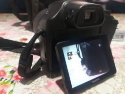 Câmera Digital Sony Dsc-hx300 Zoom 50x 20.4 Mpx + Bolsa + Sd + 2 Baterias