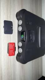 Console Nintendo  64 com  expansão top