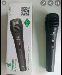 Microfone com fio 3 metros Goldenultra