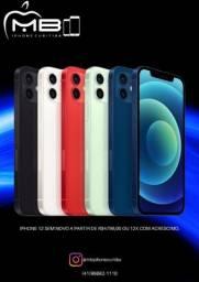 iPhone 12 com garantia apple semi novo