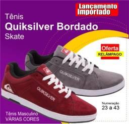 Tênis Quiksilver Bordado Skate