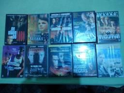 Dez DVDs Originais//Sem arranhões//Aceito Propostas