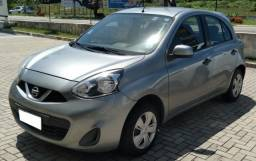 Nissan March 1.0 S, 2014/2015, Cinza, Completo