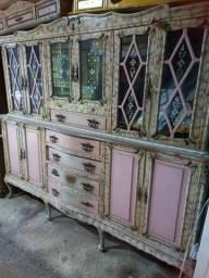 Arca cristaleira, linda madeira (antiguidade)