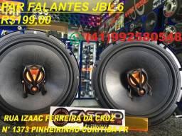 """Alto Falante JBL Selenium Flex 3 6TRFX50 6"""" 100W RMS 4 Ohms Triaxial Bobina Simples Preto"""