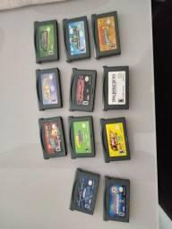 Jogos Originais Game Boy Advance, SP e DS Lite