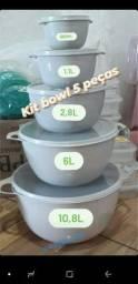 Kit Bowl 5 peças promoção