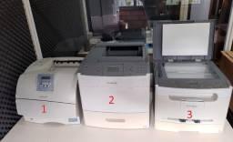3 Impressoras Laser Por R$ 600,00 - Funcionando