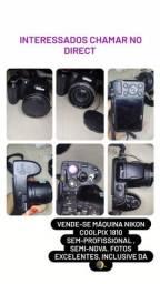 Máquina fotográfica semi profissional tôp