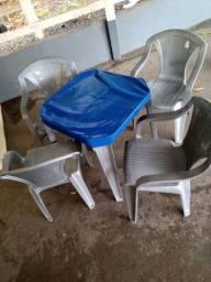 10 jogos de mesa com 4 cadeiras