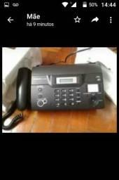 Vendo Fax Panasonic nunca usado. Comprei e fechei a loja.