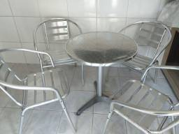 Jogo de mesa de alumínio
