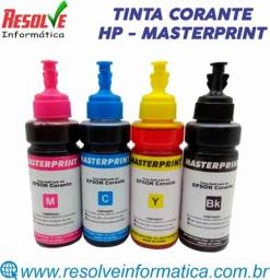 Tinta Corante 664 Masterprint 100ml HP, Novíssima