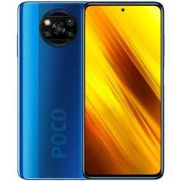 Smartphone Xiaomi Poco X3 128GB (Cobalt Blue) Azul - 210495