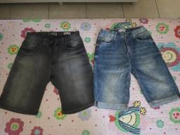 2 Bermudas Jeans, Tam 36!