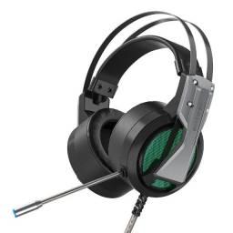 Fone de ouvido para jogos Headset BlitzWolf® BW-GH1 RGB 7.1