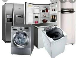 Conserto em máquina de lavar e geladeira a domicilio