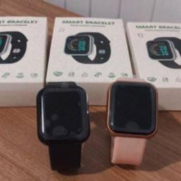 Promoção Kit Smartwatch + Pulseira Extra + Película NOVO