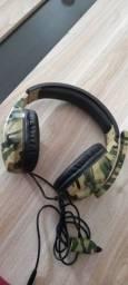 Headset camuflado