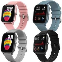 Smartwatch P8 Colmi Original Tela Touch Fitnss Tracker