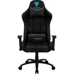 Cadeira gamer bc3 preta thunderx3 lacrada