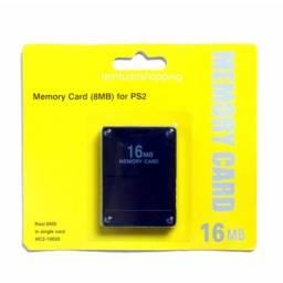 Memory Card PlayStation 2 Com 16Mb