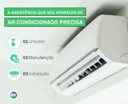 Limpeza manutenção e instalação de central de ar