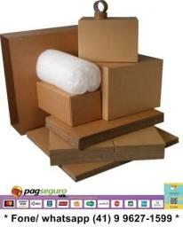 Caixas papelão para mudança, tamanhos diversos, kits para mudança