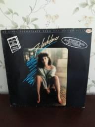 Disco de vinil flashdance dos anos 80