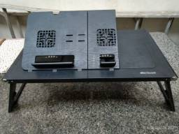 Mesa Portátil Notebook com Mouse Pad 2 Fan Multilaser