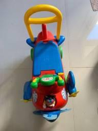 Andador Carrinho Avião Mickey Mouse