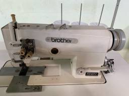 Maquina de costura Reta Brother de 2 agulhas