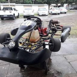 Kart motor 18 HP, para competição.