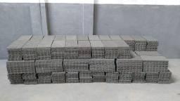 Pallet de Plastico 25x50 cm Cinza