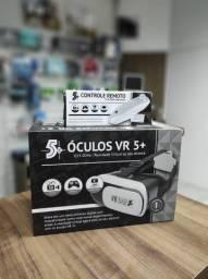 Óculos Realidade Virtual 3d Vr Box + Controle