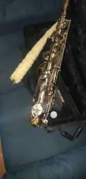 Título do anúncio: saxofone alto mib  wasm 46  escovado