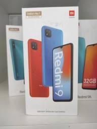 Redmi 9 da Xiaomi.. Novo LACRADO Garantia entrega em mãos imediata