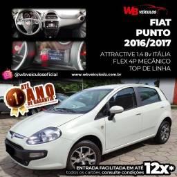 Fiat Punto Attractive 1.4 8v Itália 2016/2017