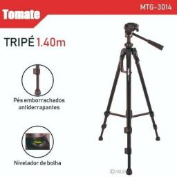 Tripé Médio MT-3014, ja acompanha suporte de celular 1.40cm