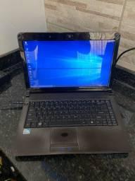 Notebook Positivo Dual Core 4GB RAM 320HD Tela 14
