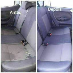 Higienização do banco do seu veículo