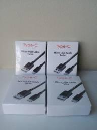 CABO USB-C / MICRO USB (V8)