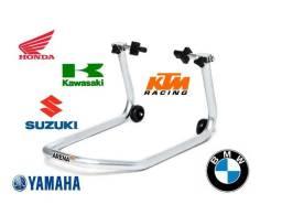 Cavalete Traseiro Universal motos com balança Honda Yamaha Suzuki Kawasaki BMW Triumph